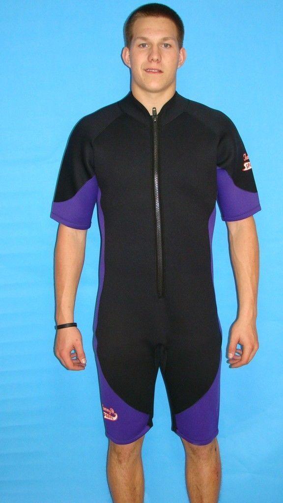 Wetsuit 3mm Large Mens  Shorty Scuba Surf Snorkel 09   best-selling