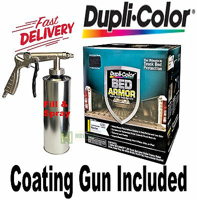 DUPLI COLOUR BED ARMOR BED LINER KIT SPRAY GUN UTE TRAY TRUCK TUB PAINT BAK2010