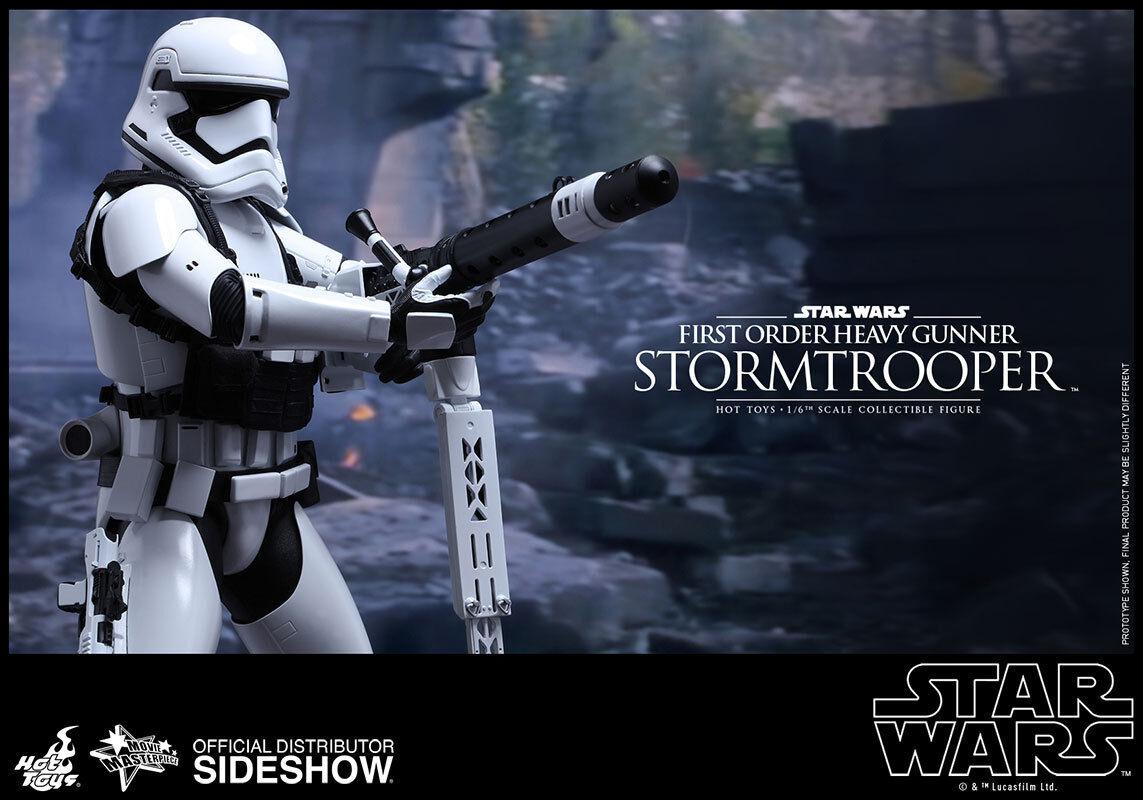 Hot Toys Star Wars Force Awakens First Order Schwer Gunner Stormtrooper Im Lager  | Speichern