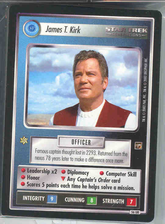 Star Trek CCG The Motion PIctures Complete 134 Card Set