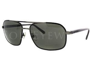 fec49239132 NEW Michael Kors Brady MKS 351 001 Matte Black   Grey Sunglasses ...