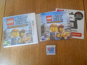 Lego City Undercover : The Chase Begins / Jeu 3DS / Complet - France - État : Trs bon état : Objet ayant déj servi, mais qui est toujours en trs bon état. Le botier ou la pochette ne présente aucun dommage, aucune éraflure, aucune rayure, aucune fissure ni aucun trou. Pour les CD, le livret et le texte l'arrir - France