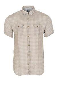Eleventy-Shirt-Homme-42-Marron-Fleure