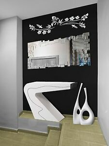 E023 # SPECCHIO DESIGN MODERNO DA PARETE DECORATIVO 140X70 cm | eBay