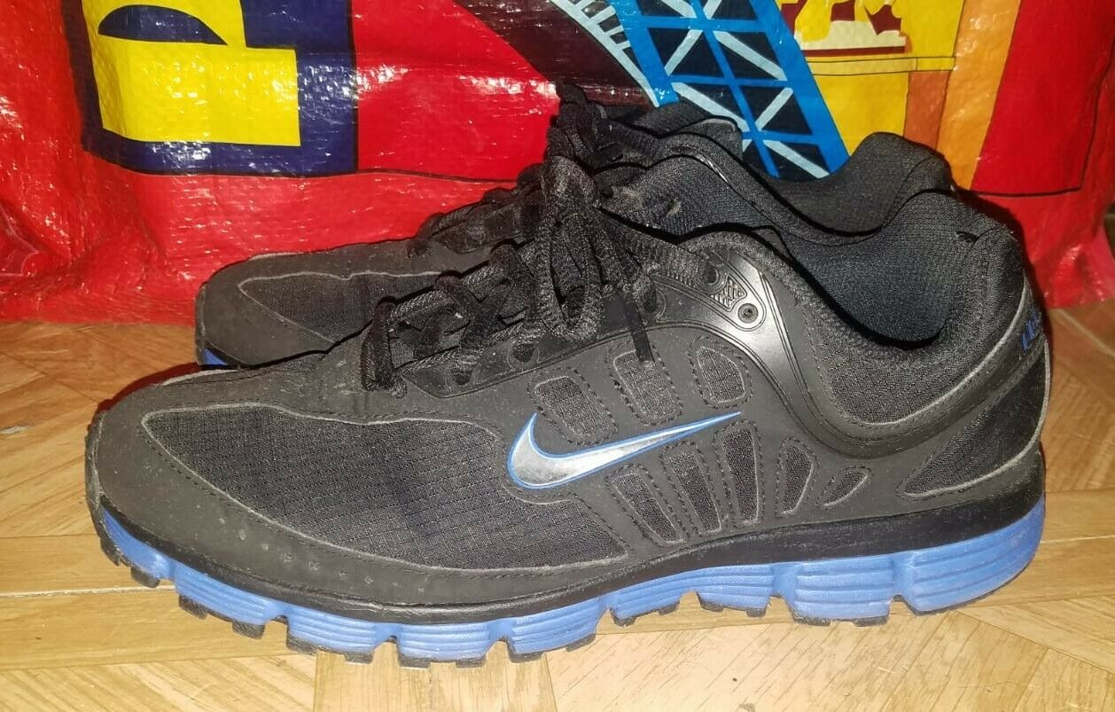 1a33eca6ad Nike Inspire Dual Fusion Black bluee Men's shoes Size 7.5 431997-004  Running ntisaf3522-Athletic Shoes
