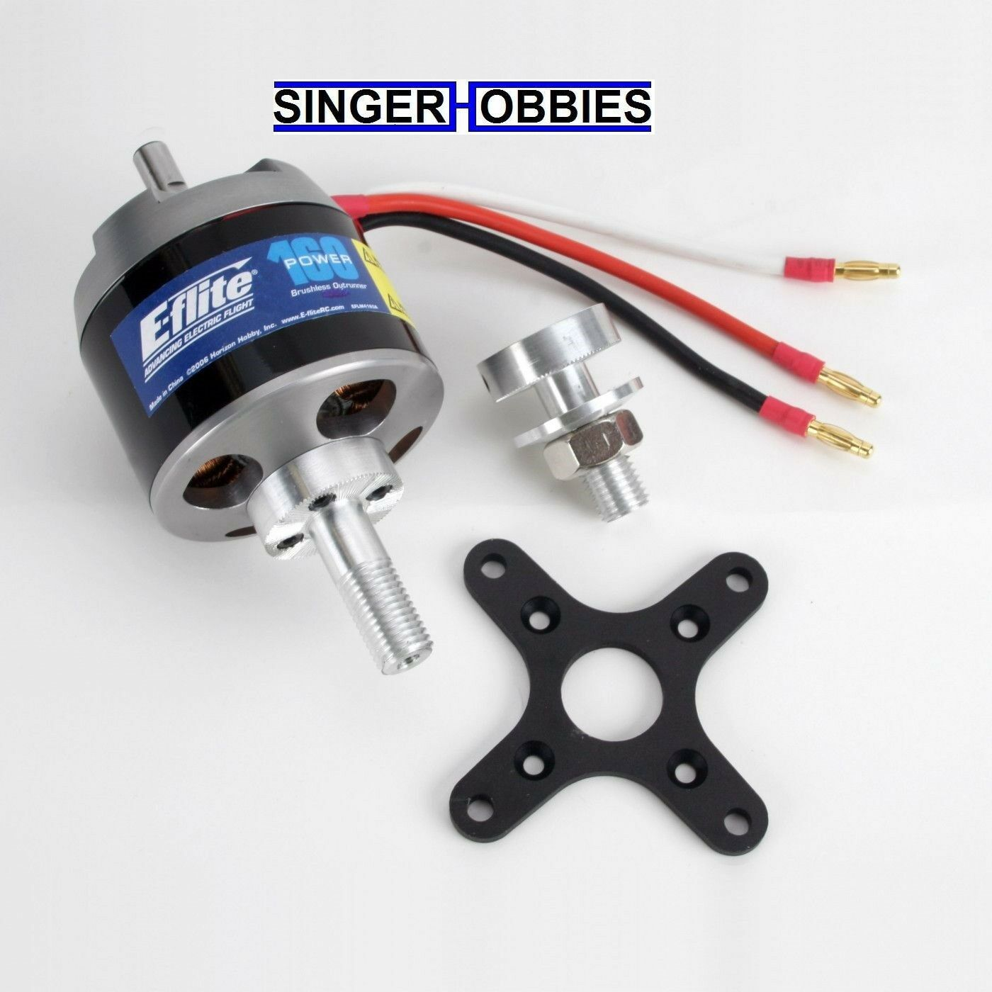 E-Flite Motor Sin Escobillas Outrunner Power 160, 245Kv EFLM 4160A Hh