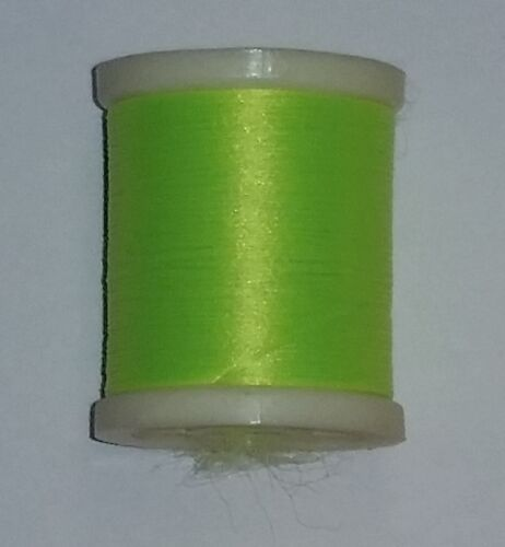 1-50 YD SPOOL DANVILLE SINGLE STRAND STRETCH NYLON YOU PICK COLOR FLY JIG TYING