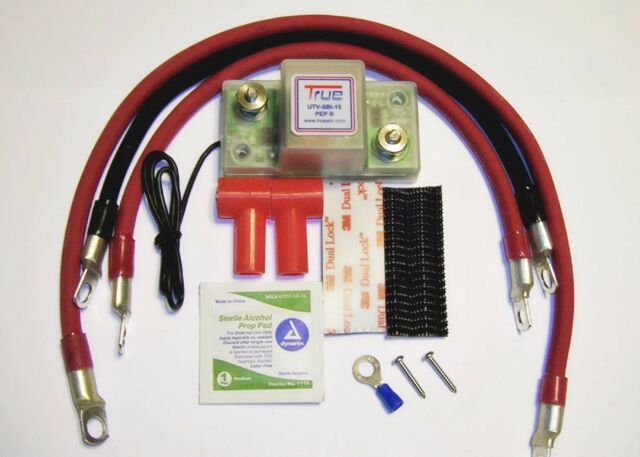 TRUEAM UTV-SBI-15CK Dual Battery Kit  SXS UTV