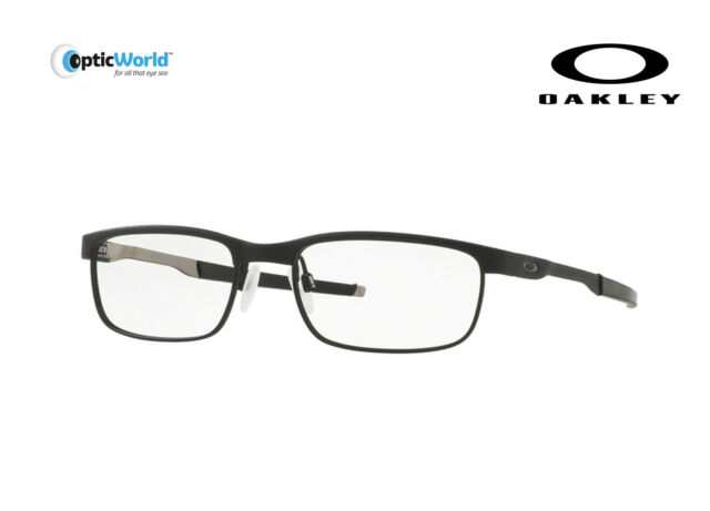 3a6403f9ce77 Oakley Steel Plate Reading Glasses Ox3222-03 Color Powder Midnight for sale  | eBay