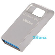 Kingston DTMC3 128GB 128G USB 3.0 Micro 3.1 Flash Drive Disk DataTraveler Metal