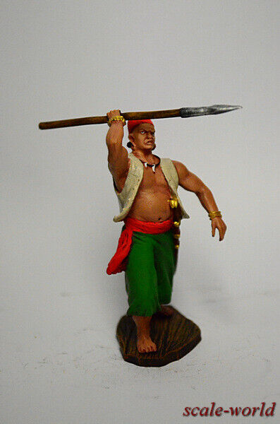 Collection, tin soldier, figure. Pirate 54 mm