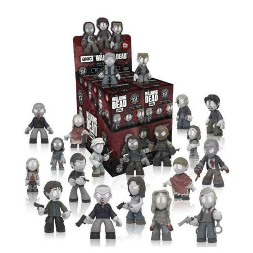 Caso de 12 X The Walking Dead in memorium FUNKO Misterio Minis de figuras de vinilo nuevo