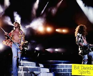 Details about DEF LEPPARD Photograph Rock of Ages Foolin Animal Hysteria 8  X 10 PHOTO 1