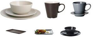 ikea dinera dessert speiseteller tasse untertasse tiefe teller service sch ssel. Black Bedroom Furniture Sets. Home Design Ideas