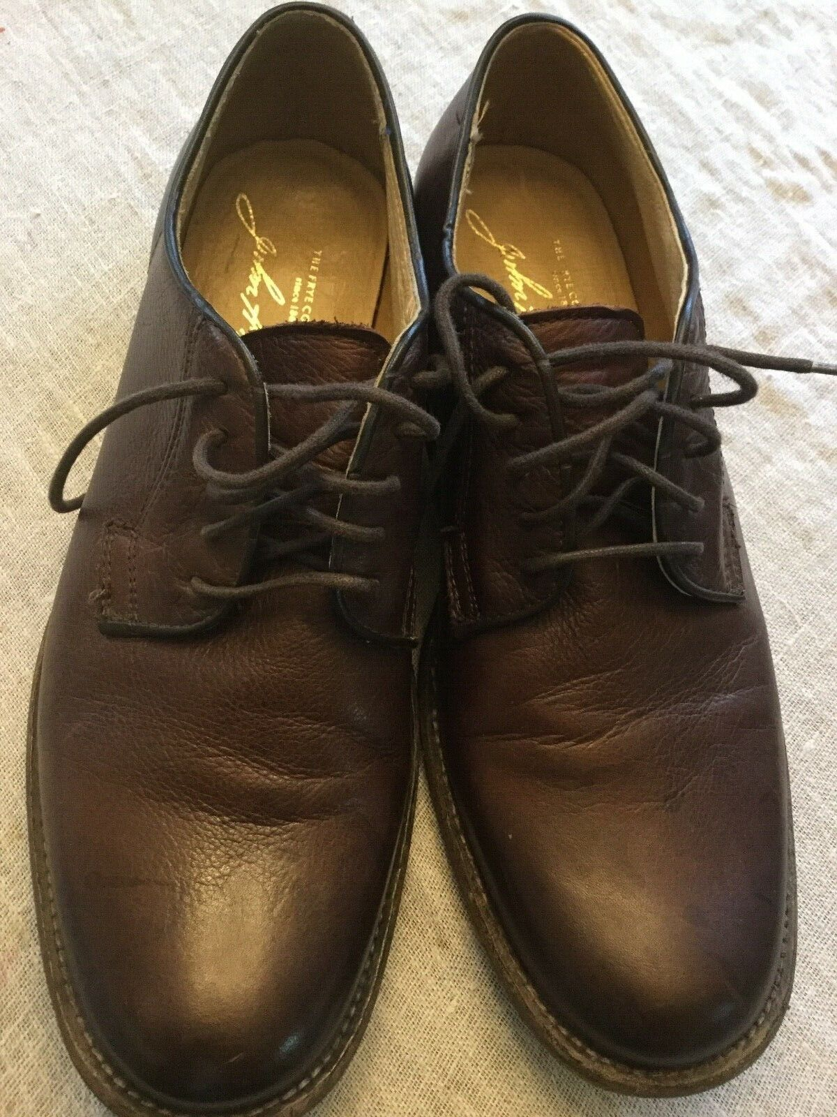 Men's Frye shoes size 10.5 brown