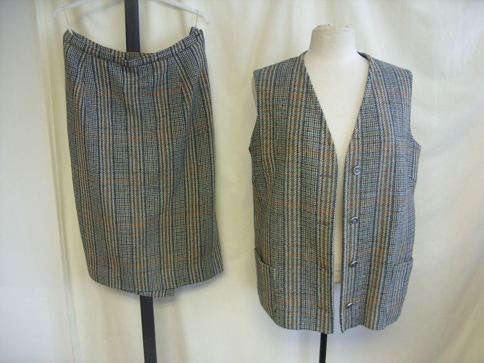 Ladies Waistcoat & Skirt Set bust 40