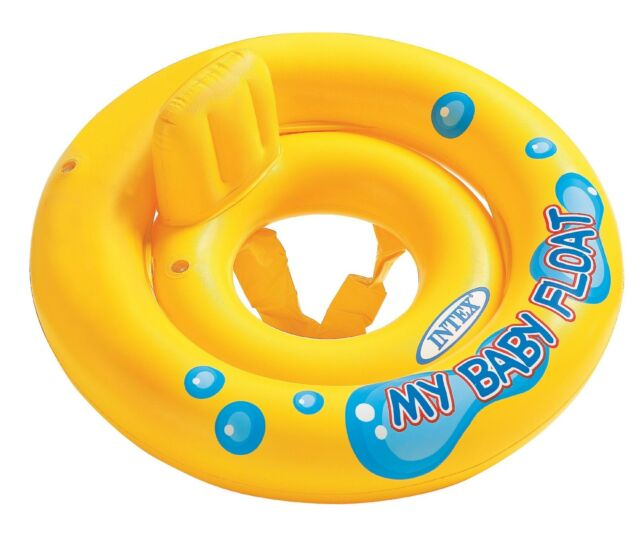 Intex My Baby Float Swimming Pool Infant Chair Lounge with Backrest