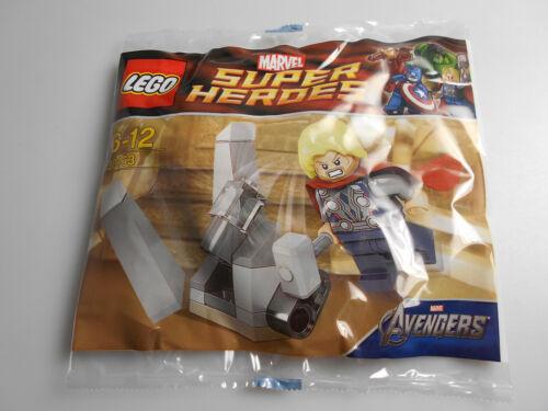 Lego ® Marvel Super Heroes polybag minifigura Thor 30163 nuevo
