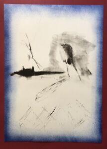 Barbara spaett, Ohne Titel, farblithographie, 2009, firmato a mano