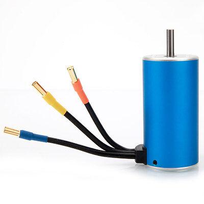 3670 1900KV 4Poles Sensorless Brushless 1600W Motor for 1/8 RC Off-road Car New