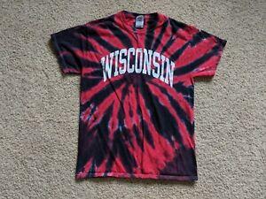 VINTAGE UW Wisconsin Badgers Grateful Red Student Section ...