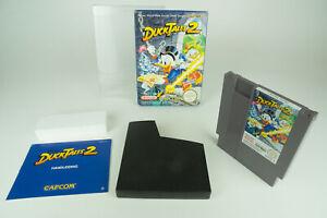 Nintendo NES * Disney's Duck valle 2 * OVP instrucciones funda protectora PAL B hol
