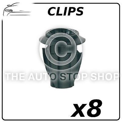 10x spreiznieten clips de fijación universal para Renault Megane Ø 6mm