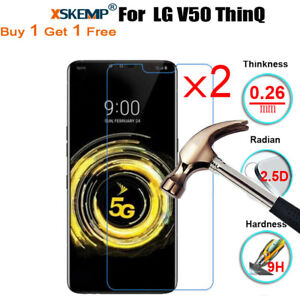2X-Tempered-Glass-Screen-Protector-For-LG-G8-ThinQ-G8s-ThinQ-Q60-V50-ThinQ