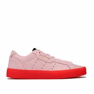 Short-Femme-Adidas-Originals-Sleek-Baskets-en-Diva-Rouge