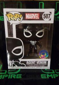 Funko-Pop-Agent-Venom-Marvel-Spider-Man-507-Pop-In-A-Box-PIAB-Exclusive-NIB