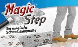 MAGIC-STEP-magische-Schmutzfangmatte-Fussmatte-Matte-Fussabtreter-Reinigungsmittel