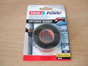 tesa extra power extrem repair reparaturband 56064 schwarz o transparent ebay. Black Bedroom Furniture Sets. Home Design Ideas