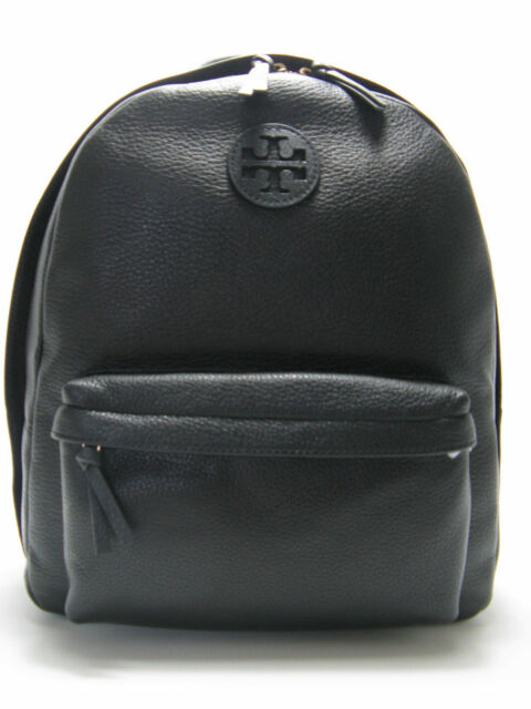 a77841b68e21 Tory Burch Leather Backpack Black 2day Delivery for sale online