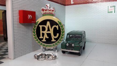 Land Rover Série 1 2 2a 2b Émail Rac Panneau avant Métal Badge Voiture /&