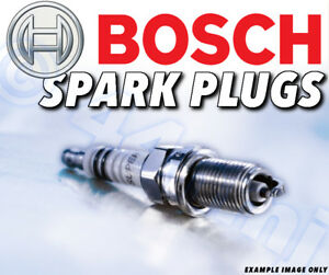 6x Neu Bosch Zündkerzen für Audi A8 3.0 Alle Modelle 04> Teilenummer 23