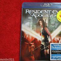 Resident Evil: Apocalypse (blu-ray Disc) Survival Horror Based Blueray Dvd Movie