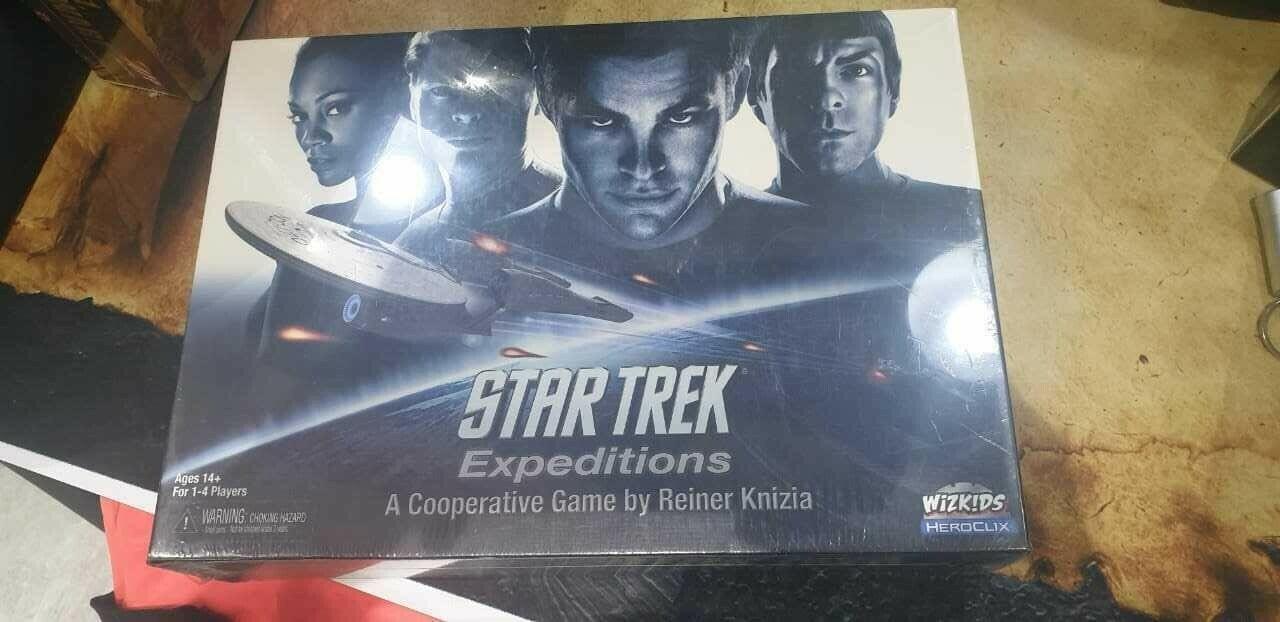 Estrella Trek Expediziones Bre nuovo Sealed  inglese  marca