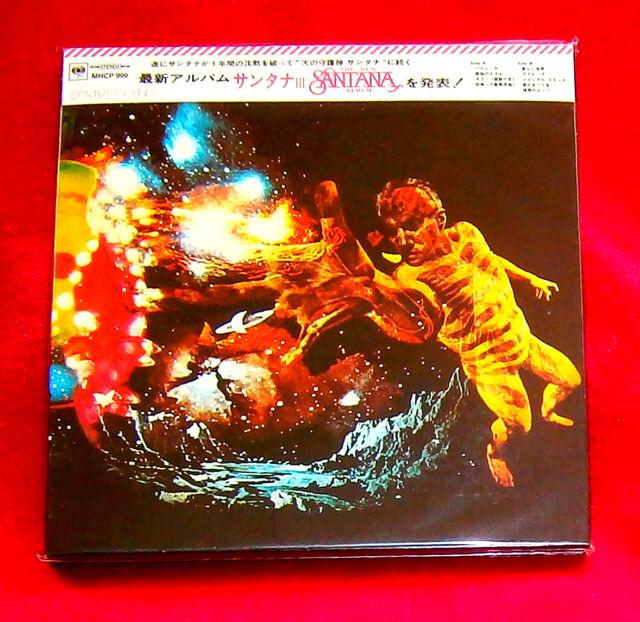 Santana III MINI LP CD JAPAN MHCP-999