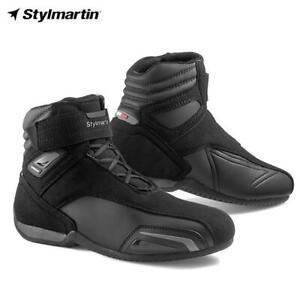 Stiefeletten-Motorrad-Von-Wettspiel-Wasser-Repellentien-Schutz-STYLMARTIN-Vector