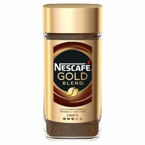 2X Nescafe Gold BLEND UK Premium Instant Coffee (100g) USA Seller - Ships Free