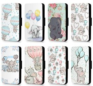Disney-Dumbo-Baby-Floral-Watercolour-Phone-Case-Cover-for-Samsung-S6-S7-S8-S9