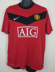 c15a8a321 Nike Manchester United 2009-10 Football Shirt Soccer Jersey Maglia ...