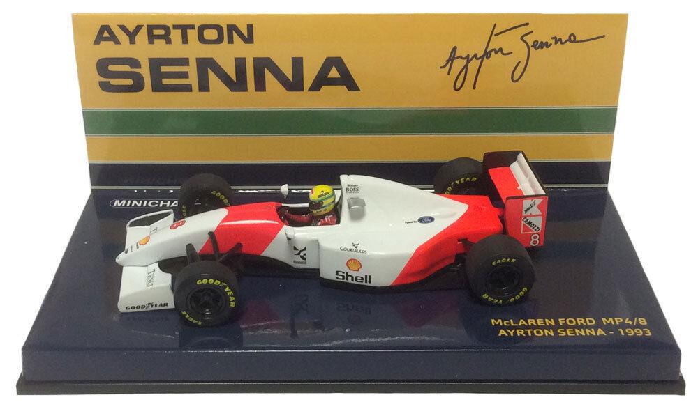 Minichamps McLAREN FORD MP4 8 1993-Ayrton Senna échelle 1 43