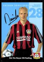 Carsten Ramelow Autogrammkarte Bayer Leverkusen 2000/01 Original Sign+A 67732