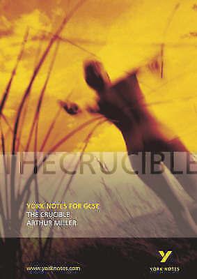 """AS NEW"" The Crucible (York Notes), Langston, David, Book"