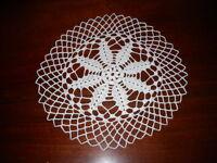Beautiful NEW Hand Crocheted Doily Snowflake HI-172