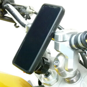 17.5-20.5mm Vélo Tige Support & Tigra Fitclic Neo Étui Pour Samsung Galaxy S9+