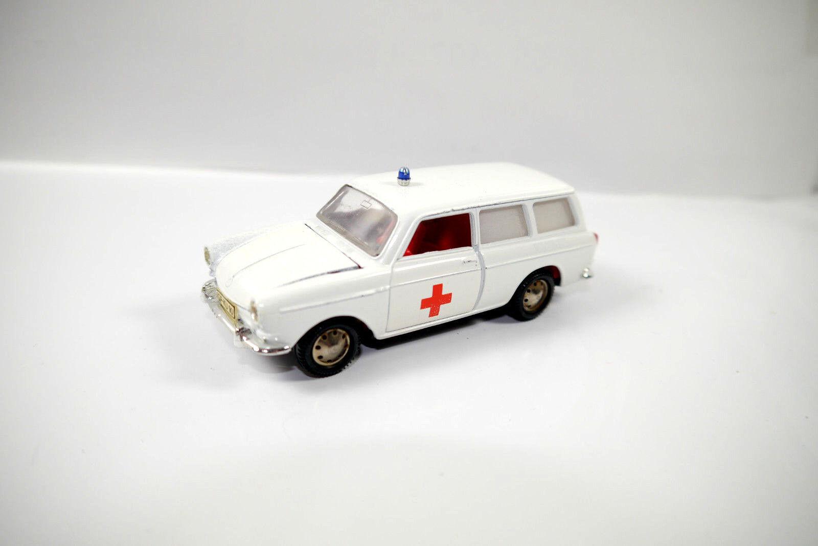 Märklin VW Variante 1600 L Ambulance Métal Modèle de Voiture 1 43 (K36)