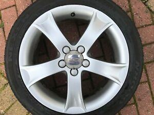 Genuine-OEM-Seat-Ibiza-MK4-16-034-Rechange-Alliage-Roue-amp-Pneu-6L0601025M-TDI