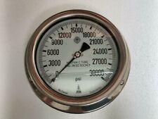 Mc Daniel Controls Inc 30000 Psi High Pressure Hydraulic Gauge